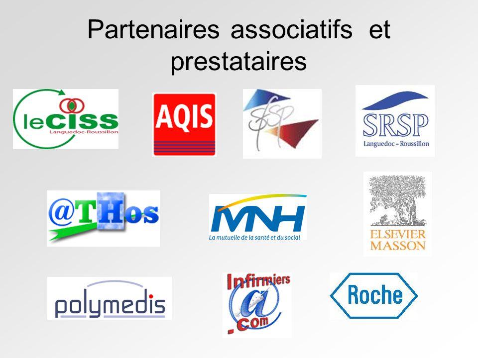Partenaires associatifs et prestataires