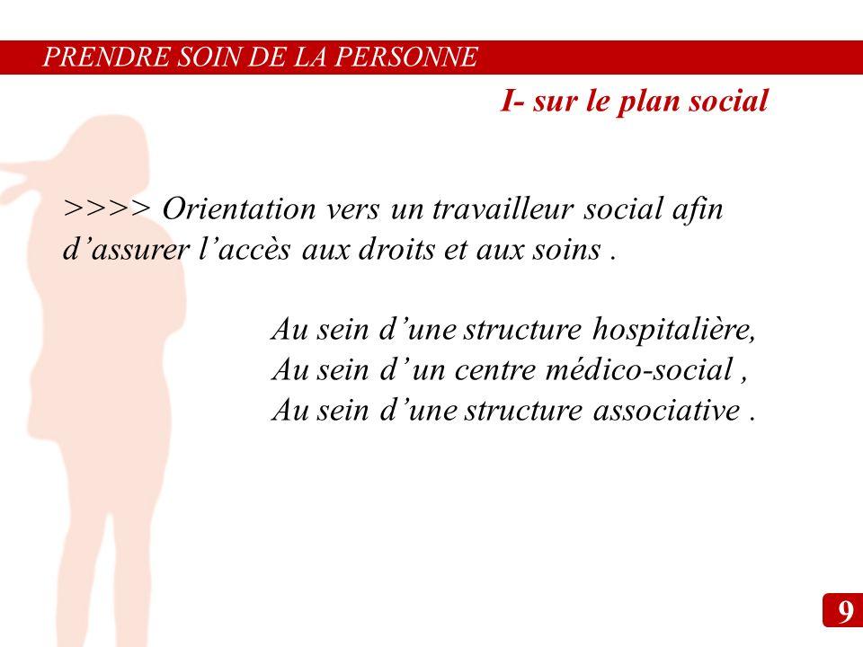 >>>> Orientation vers un travailleur social afin