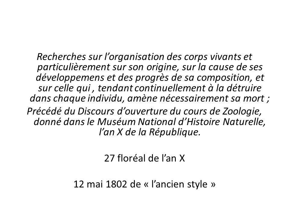12 mai 1802 de « l'ancien style »
