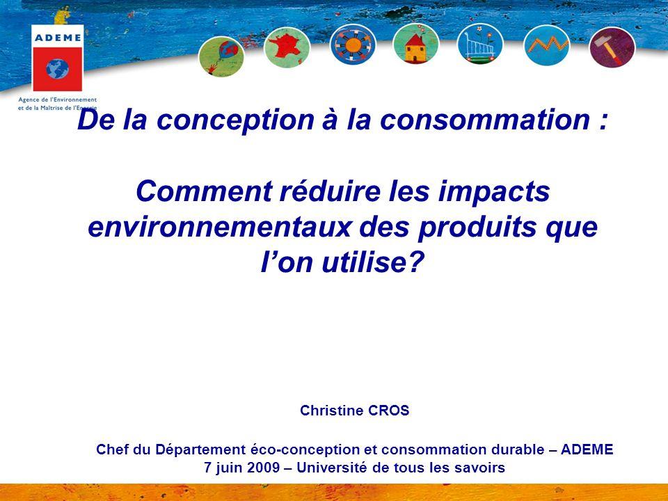De la conception à la consommation : Comment réduire les impacts environnementaux des produits que l'on utilise