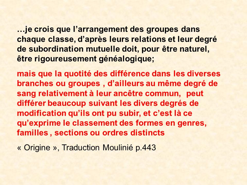 « Origine », Traduction Moulinié p.443