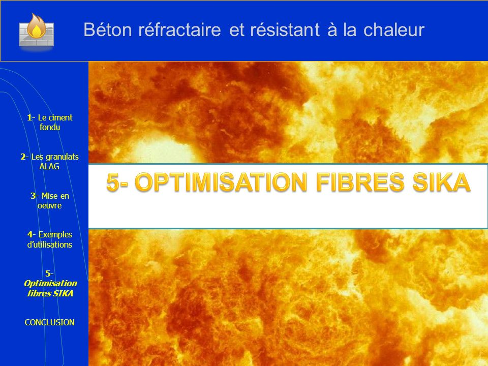 5- OPTIMISATION FIBRES SIKA