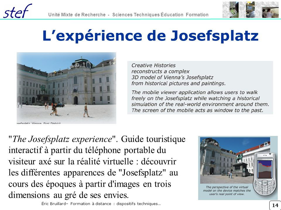 L'expérience de Josefsplatz