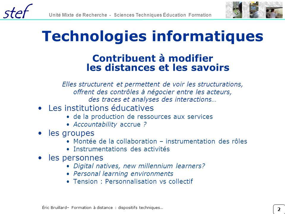Technologies informatiques