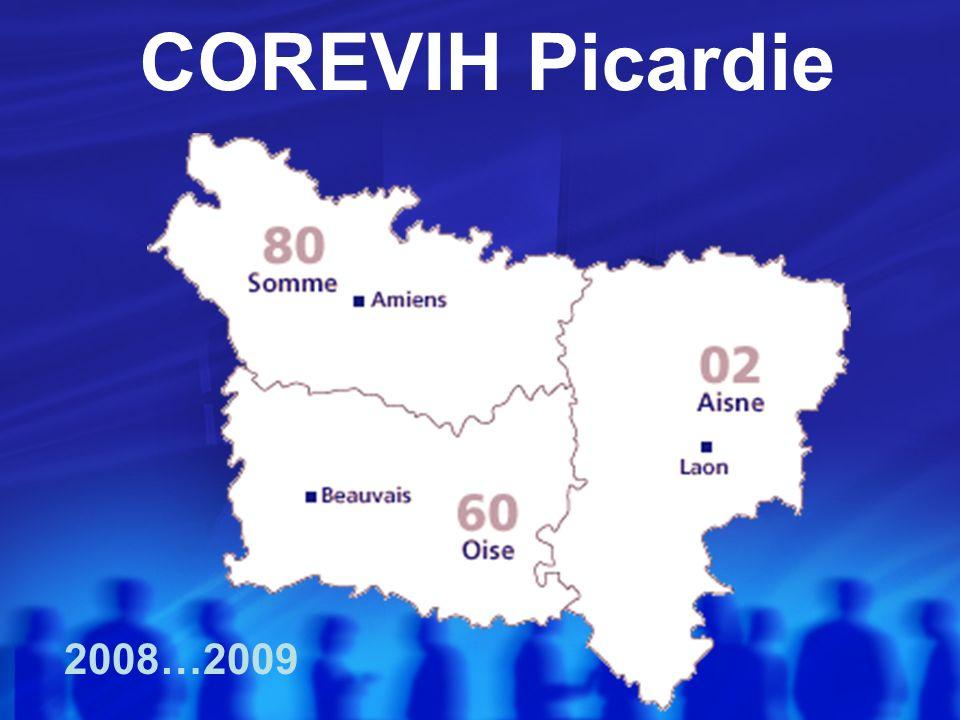 COREVIH Picardie 2008…2009