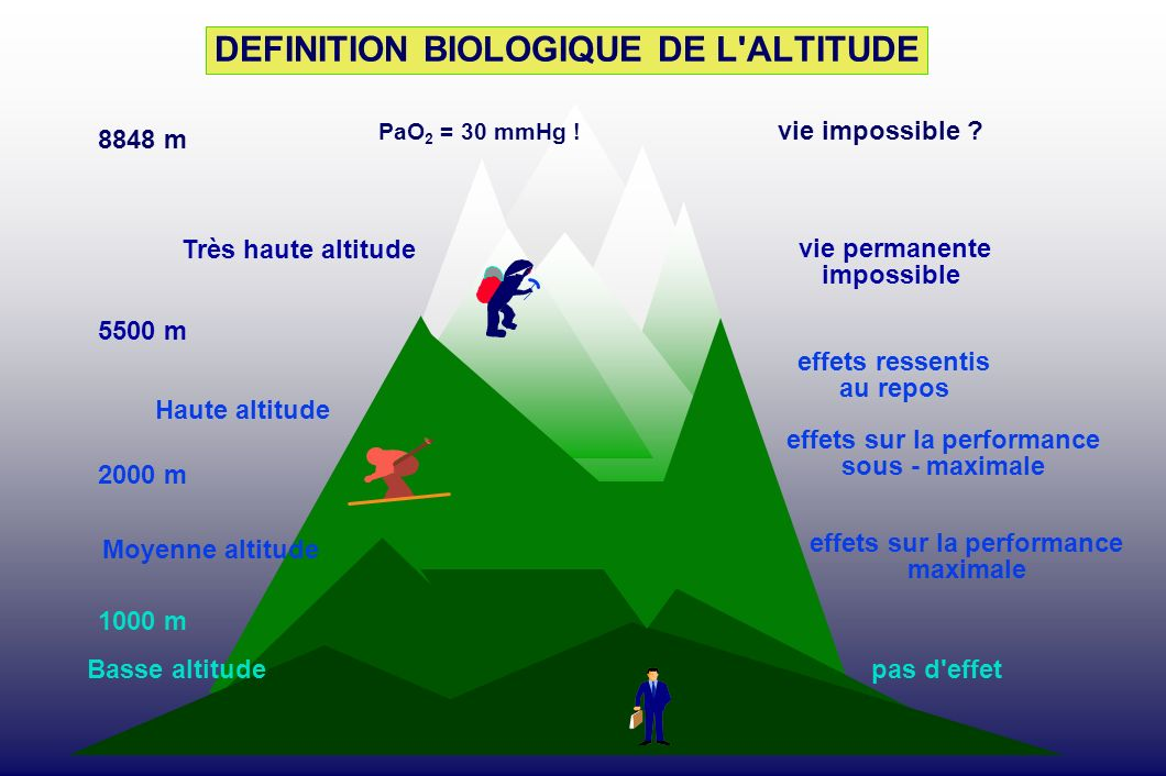 L adaptation la haute altitude de crise en crise jusqu for Definition de l