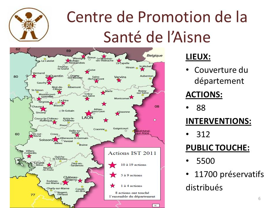 Centre de Promotion de la Santé de l'Aisne