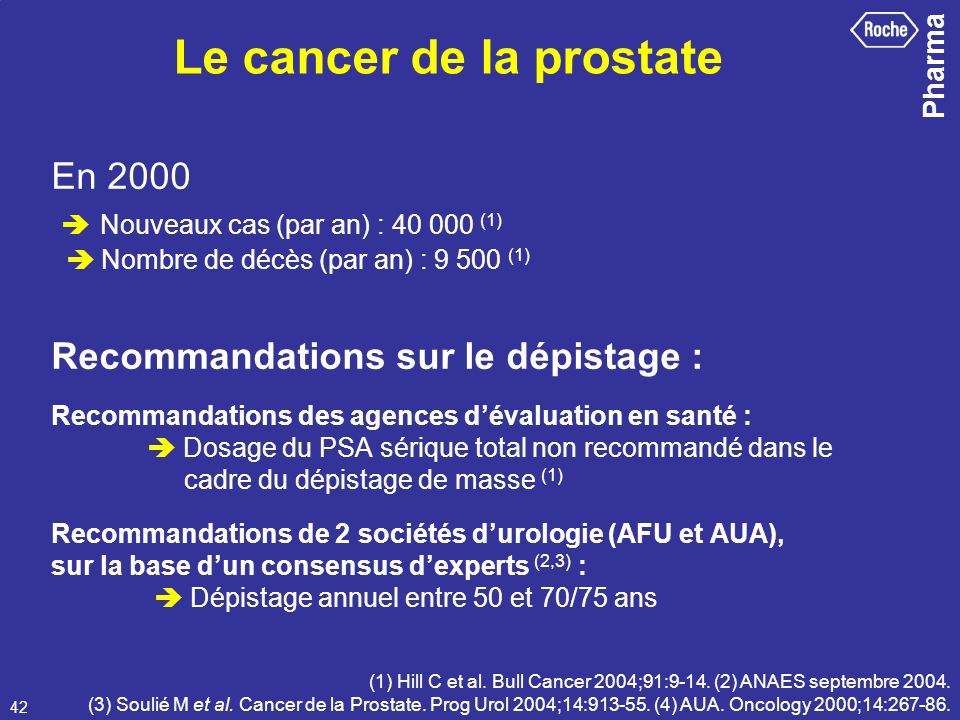 Le cancer de la prostate