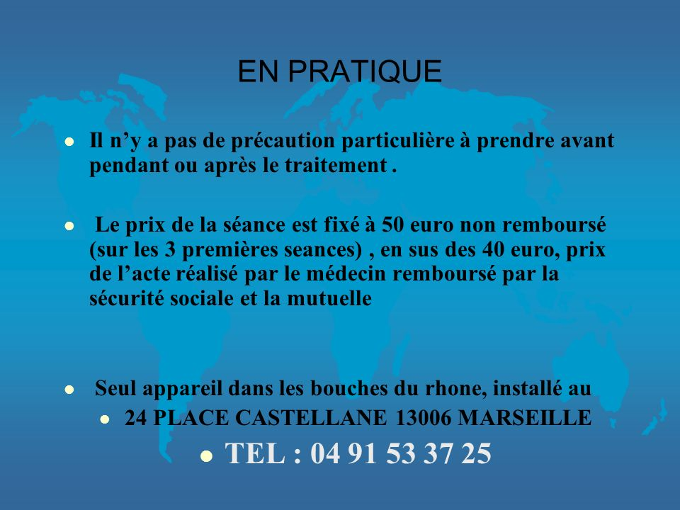 24 PLACE CASTELLANE 13006 MARSEILLE