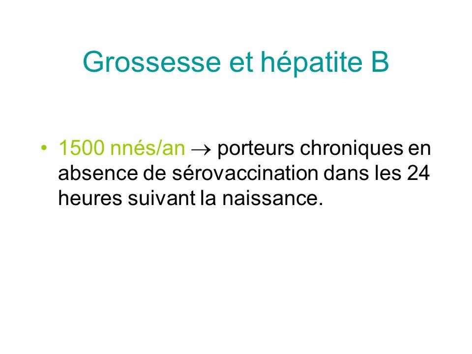Grossesse et hépatite B