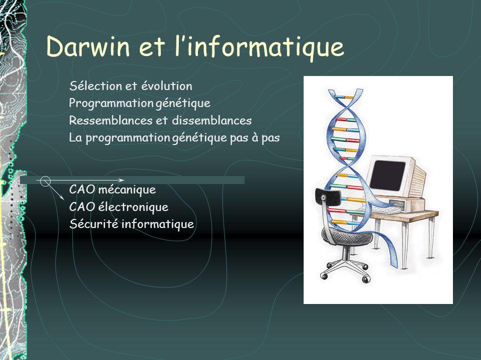 Darwin et l'informatique