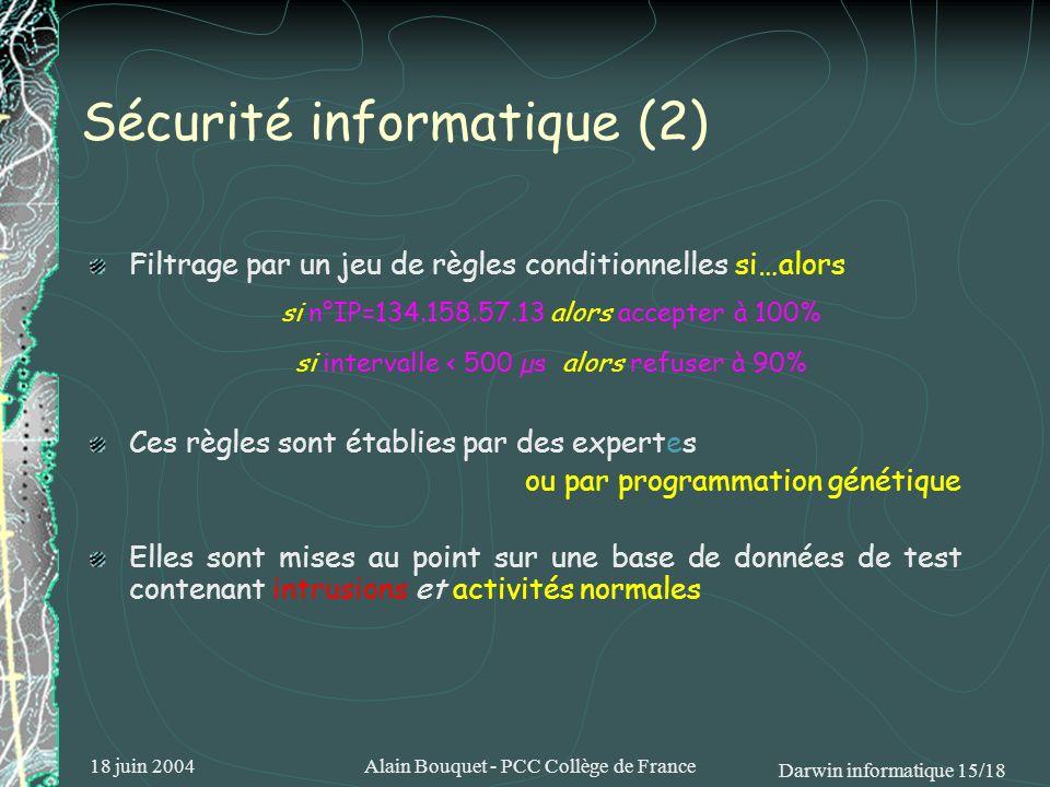 Sécurité informatique (2)
