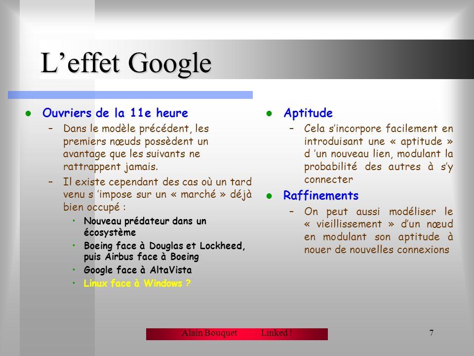 L'effet Google Ouvriers de la 11e heure Aptitude Raffinements