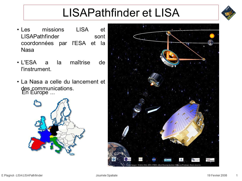 LISAPathfinder et LISA