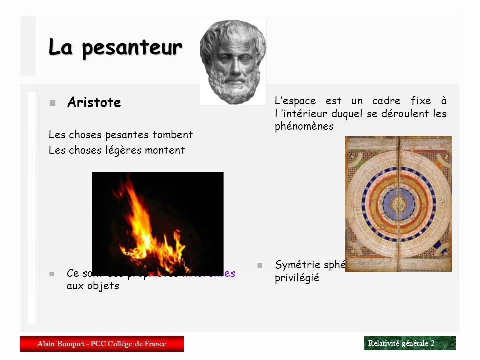 Alain Bouquet - PCC Collège de France