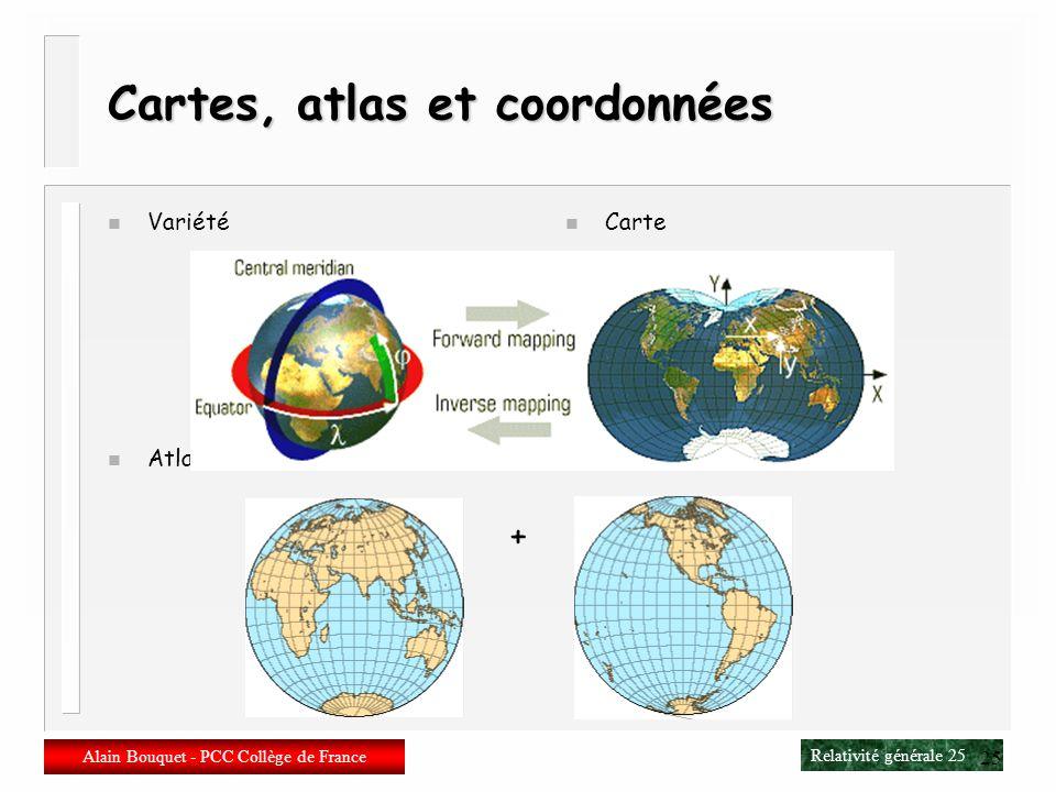 Cartes, atlas et coordonnées