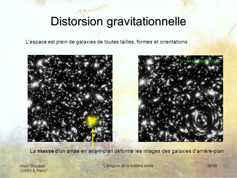 Distorsion gravitationnelle