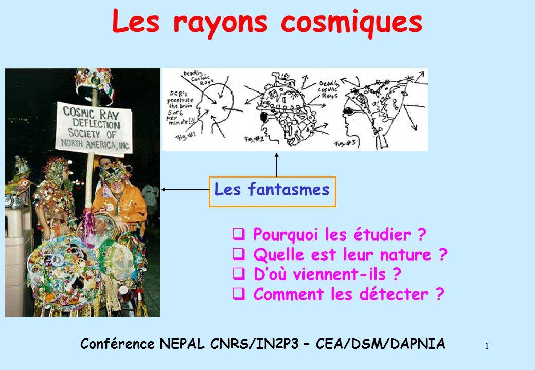 Conférence NEPAL CNRS/IN2P3 – CEA/DSM/DAPNIA