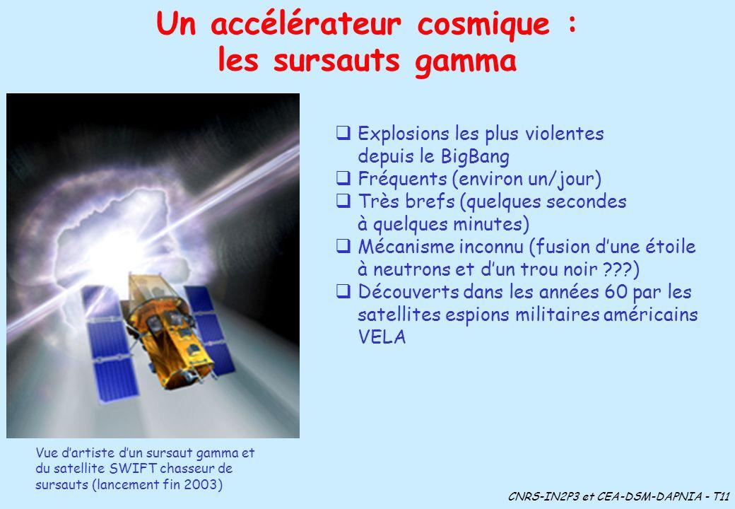 Un accélérateur cosmique :
