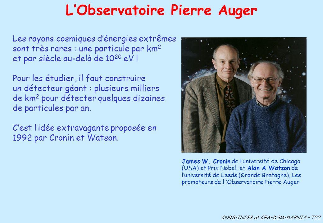 L'Observatoire Pierre Auger