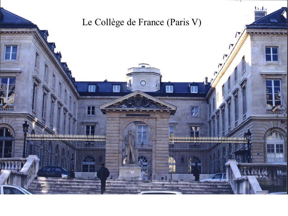 Le Collège de France (Paris V)