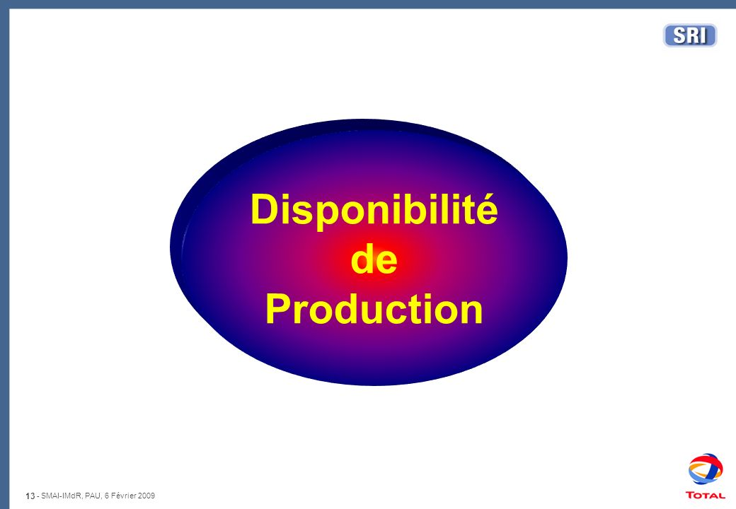 Disponibilité de Production