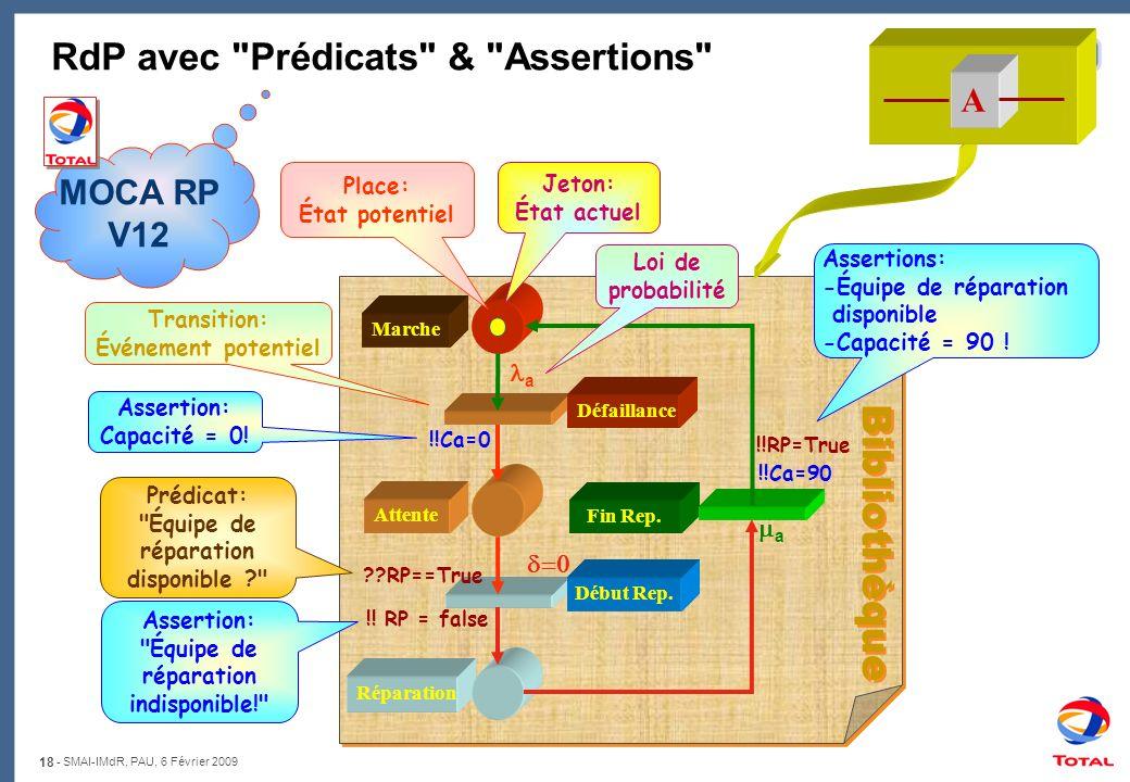 RdP avec Prédicats & Assertions