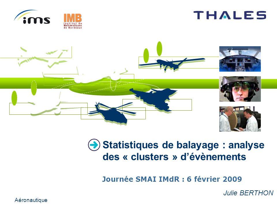 Statistiques de balayage : analyse des « clusters » d'évènements