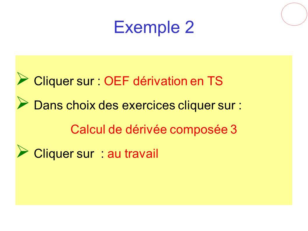 Calcul de dérivée composée 3