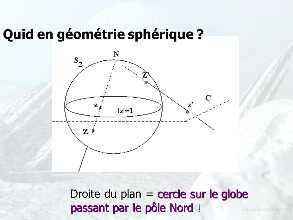 Quid en géométrie sphérique