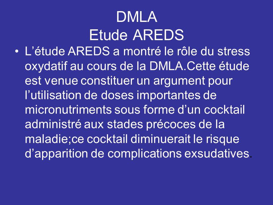 DMLA Etude AREDS