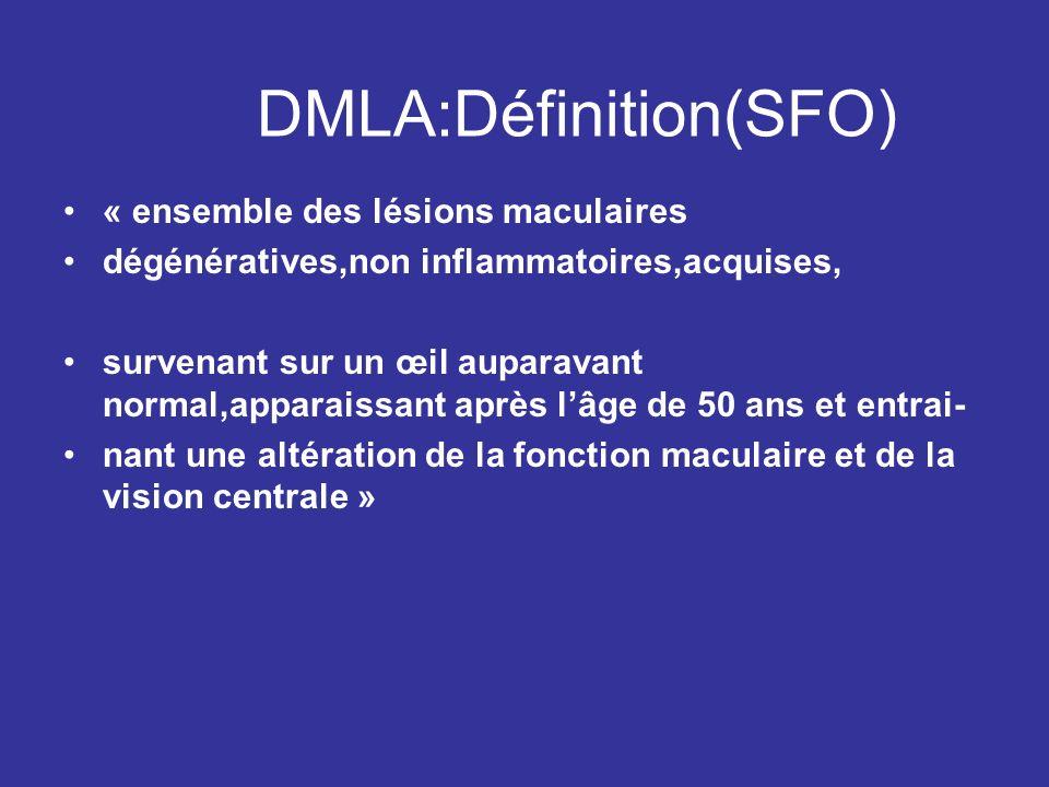 DMLA:Définition(SFO)