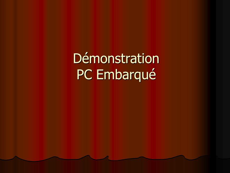 Démonstration PC Embarqué