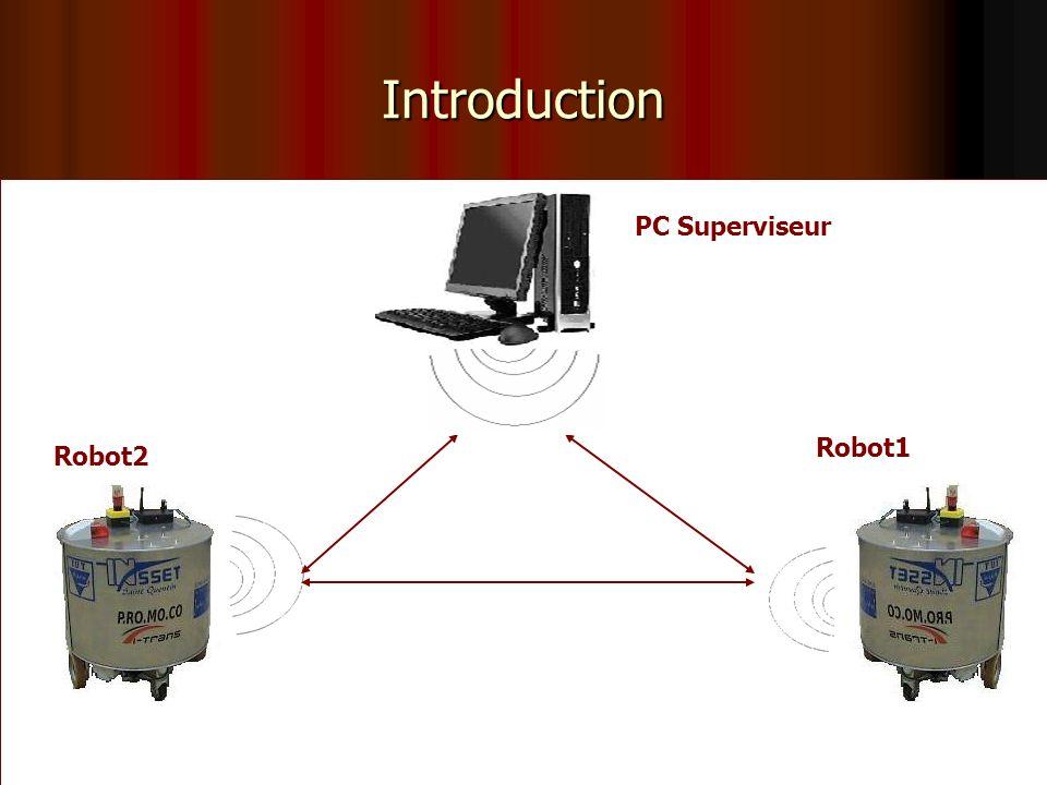Introduction PC Superviseur Robot1 Robot2