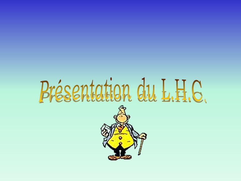 Présentation du L.H.C.