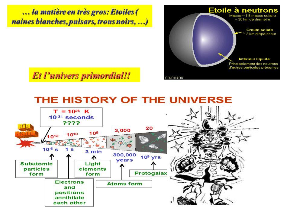 Et l'univers primordial!!