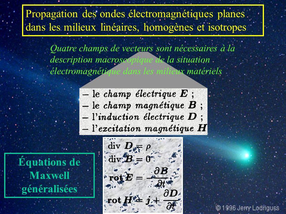 Équations de Maxwell généralisées