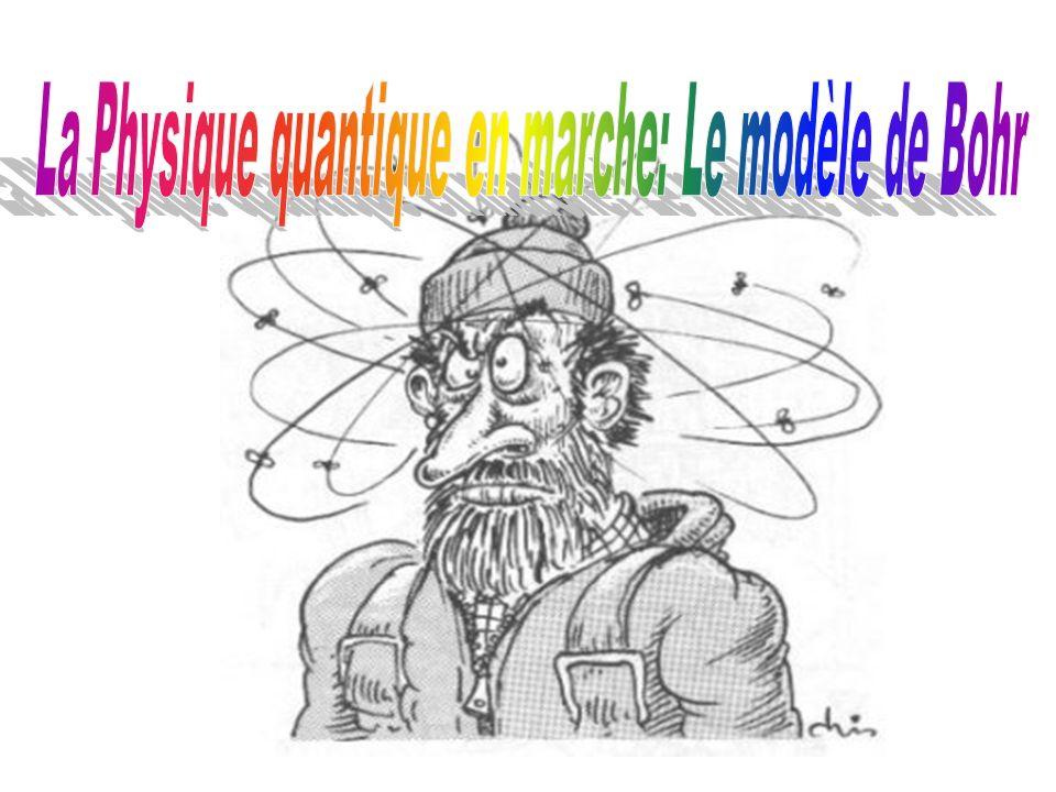 La Physique quantique en marche: Le modèle de Bohr
