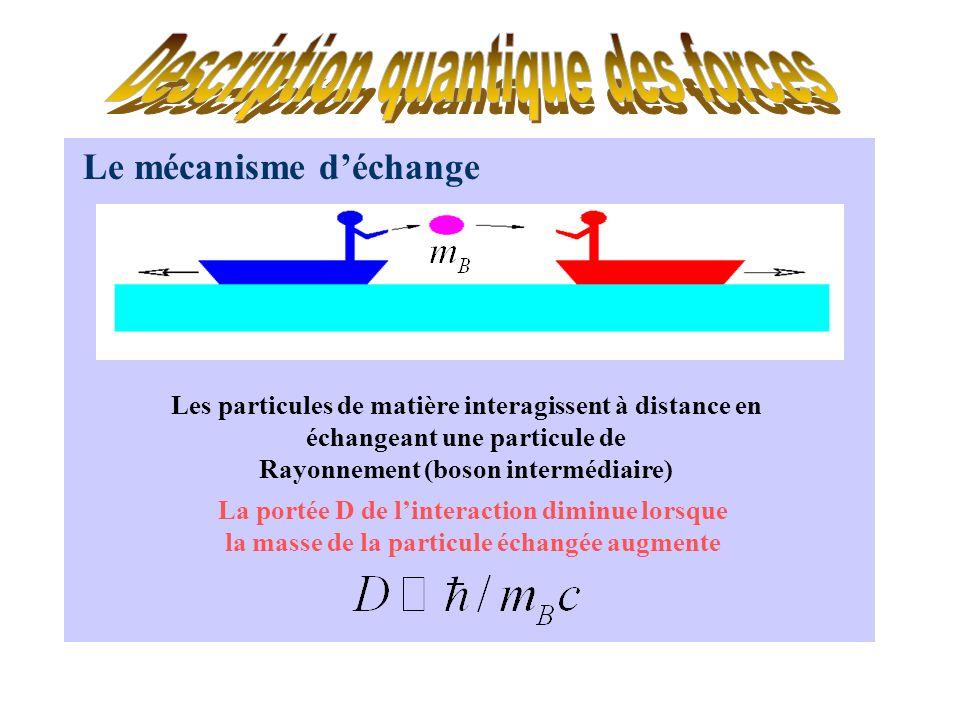 Description quantique des forces