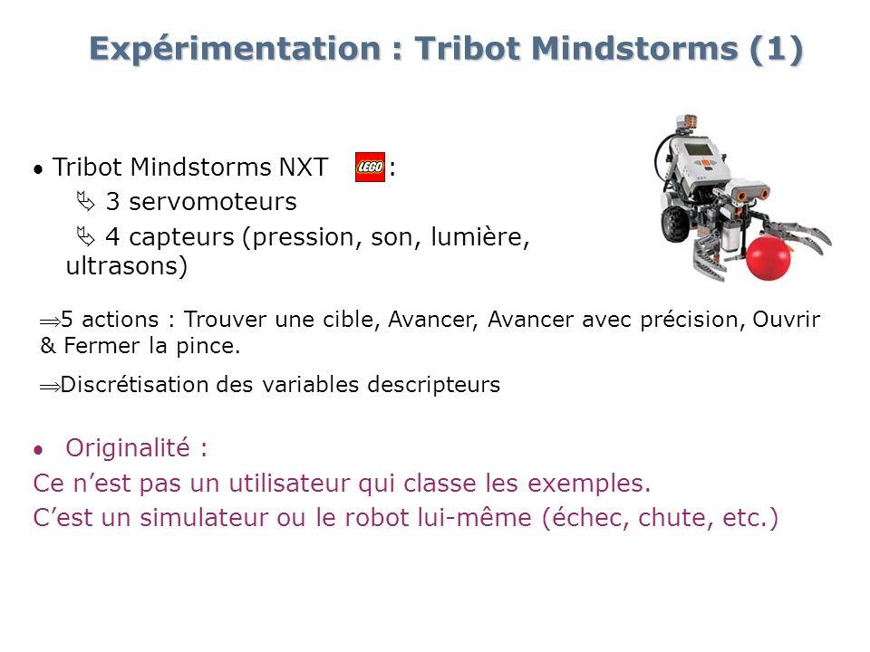 Expérimentation : Tribot Mindstorms (1)