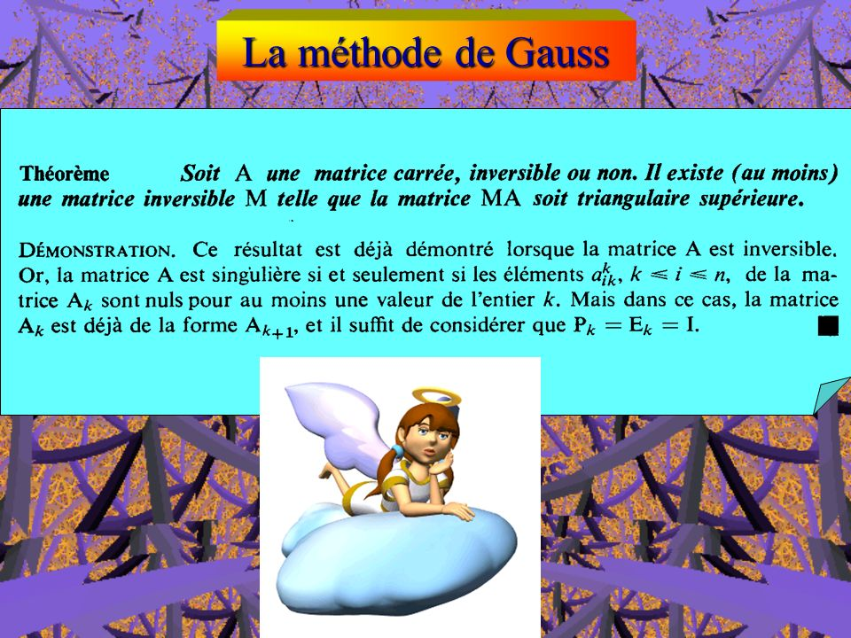 La méthode de Gauss