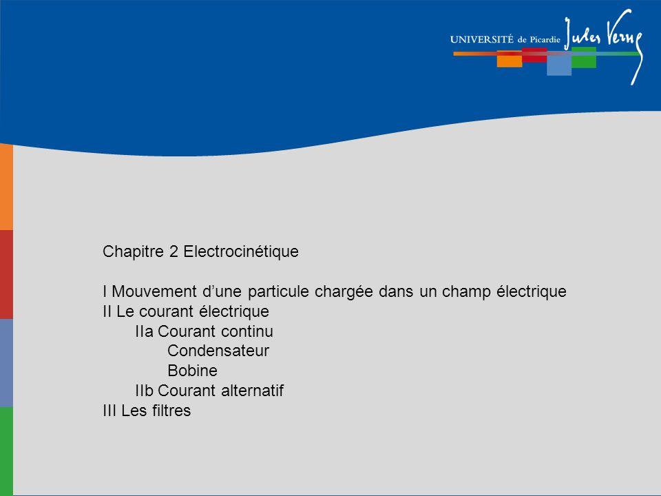 Chapitre 2 Electrocinétique