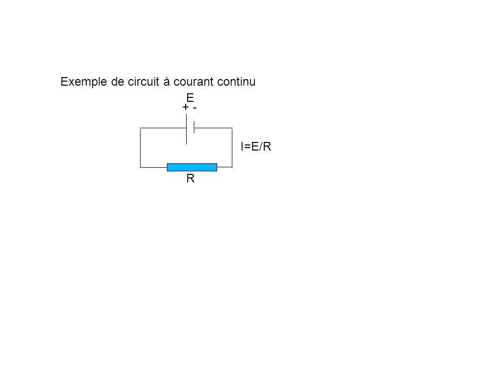 Exemple de circuit à courant continu