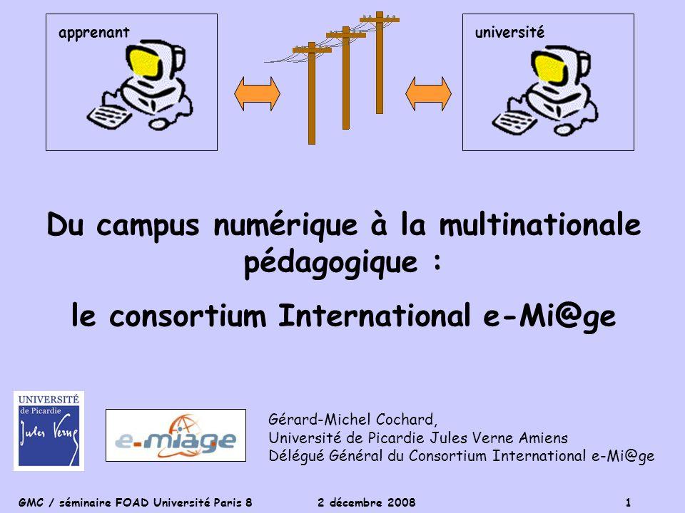 Du campus numérique à la multinationale pédagogique :