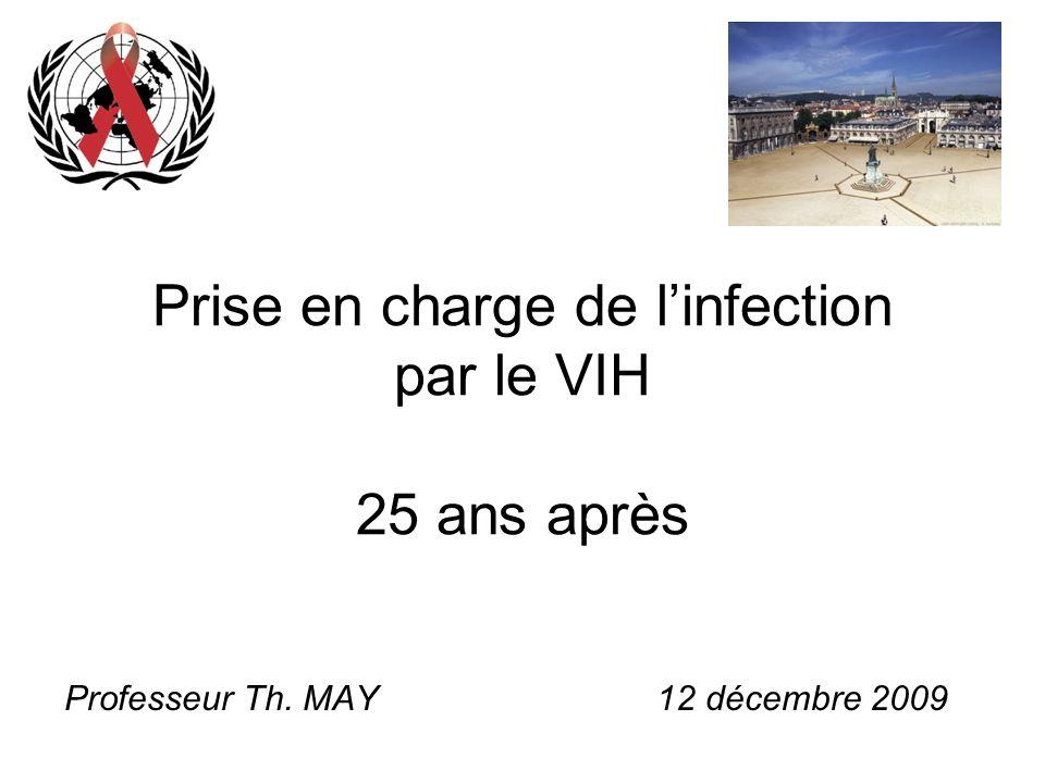 Prise en charge de l'infection par le VIH 25 ans après