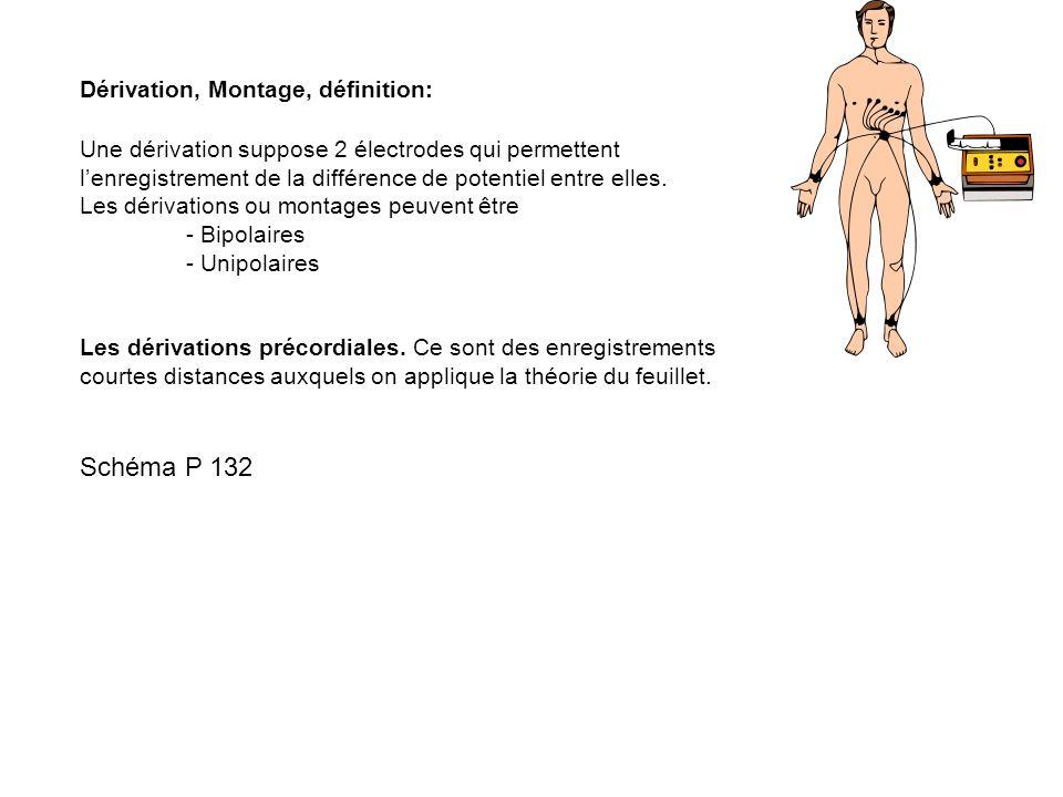 Schéma P 132 Dérivation, Montage, définition: