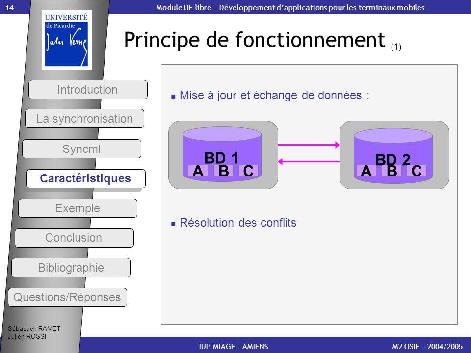 Principe de fonctionnement (1)