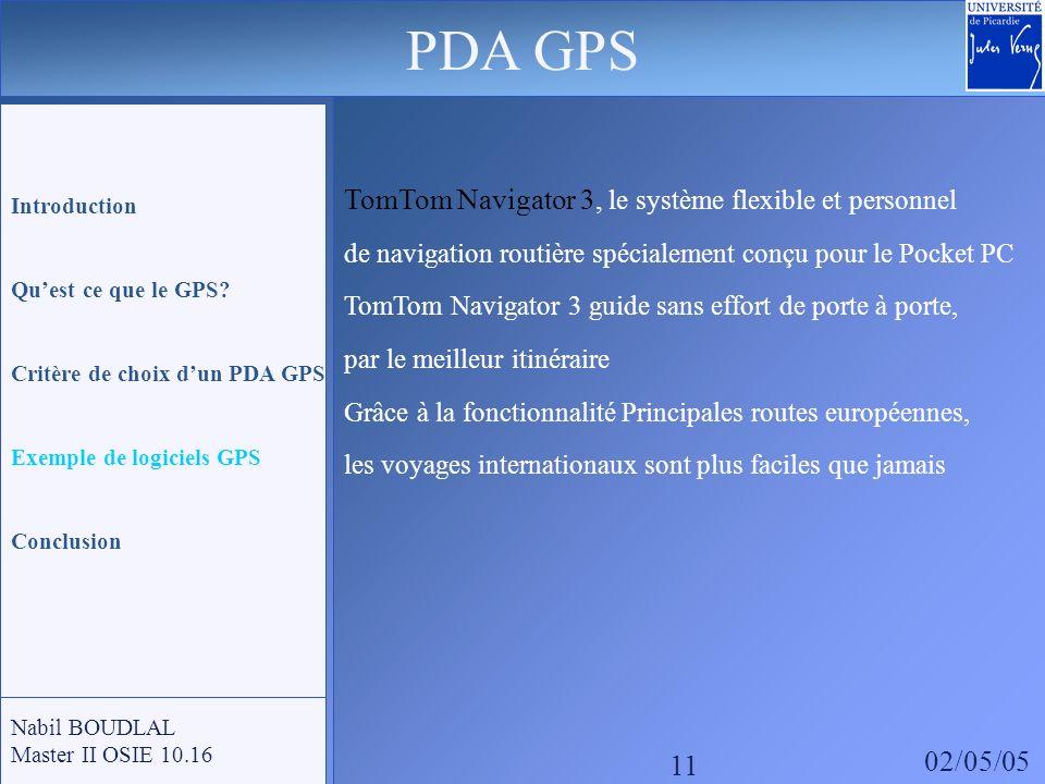 PDA GPS TomTom Navigator 3, le système flexible et personnel 02/05/05
