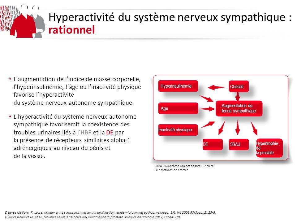 Hyperactivité du système nerveux sympathique : rationnel