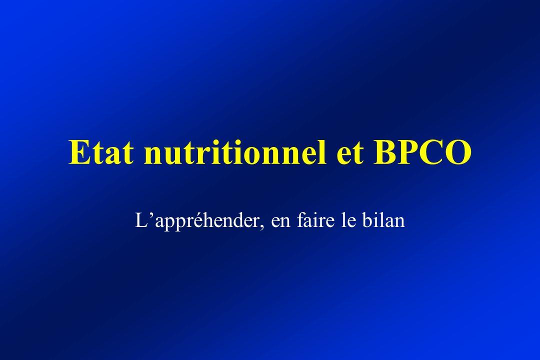 Etat nutritionnel et BPCO - ppt télécharger